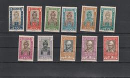 Gabon Yvert Taxe Série 12 à 22 * Neufs Avec Charnière ( Ou Sans Je Ne Suis Pas Sur )  - 2 Scan - Impuestos