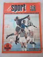 # LO SPORT N 48 -1953 JUVENTUS - INTER 2-2 / SAMPDORIA GENOA 1-0 / COVER GIACOMAZZI INTER - Sport