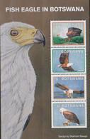 BOTSWANA, 2021, MNH, BIRDS, FISH EAGLES, SHEETLET - Eagles & Birds Of Prey