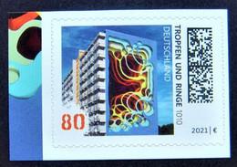 """Bund/BRD Oktober 2021 Selbstklebende Sondermarke """"Street Art (II)"""" MiNr 3635 Aus Folienblatt 110, Postfrisch - Nuovi"""