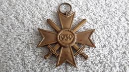 Anhänger KVK Schwerter 1939 Ohne Herst. Abzeichen Deutsches Reich Wehrmacht Militär - 1939-45