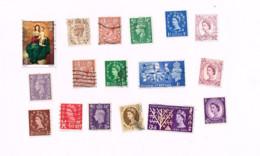 Collection De  30 Timbres Oblitérés. - Collections