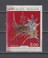 FRANCE. YT   Variétés  N° 1813 (couleur)  Neuf **  1974 - Varieties: 1970-79 Mint/hinged