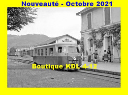 AL 730 - Autorail Billard A 80 D En Gare - ARGENTAT - Corrèze - POC - Argentat