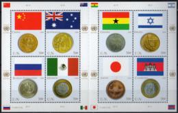 NATIONS UNIES (New York) - Drapeaux Et Monnaies 2006 - Ungebraucht