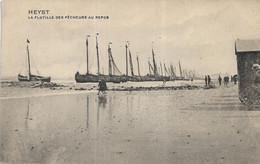 Heist   La Flotille  Des Pecheurs Au Repos - Heist