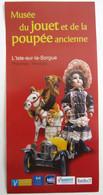 PUB PUBLICITE MUSEE DU JOUET ET DE LA POUPEE ANCIENNE L ISLE SUR LA SORGUE VAUCLUSE - Bambole