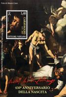 Vatican - 2021 - 450th Birth Anniversary Of Caravaggio - Mint Souvenir Sheet - Unused Stamps