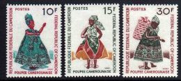 Cameroun  N° 489 / 91  XX Poupées Camerounaises. Les 3  Valeurs  Sans Charnière TB - Camerun (1960-...)