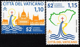 Vatican - 2021 - 52nd International Eucharistic Congress In Budapest - Mint Stamp Set - Nuovi