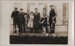 Carte Postale Ancienne /Tableau Au Retour De  Chasse/ Lièvres, Oiseaux Et Chiens/1900-1930           CPDIV271 - Sin Clasificación