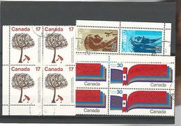 54557 ) Collection Canada Block - Blocks & Sheetlets