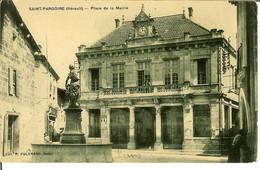 """CP De SAINT-PARGOIRE  """" Place De La Mairie """" - Lodeve"""