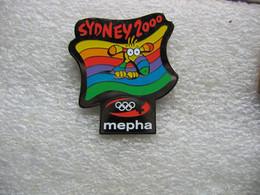 Pin's Des Jeux Olympiques De SIDNEY En 2000, Sponsorisés Par MEPHA - Jeux Olympiques