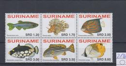 Surinam Michel Cat.No. Mnh/** 2138/2143 Fish - Surinam