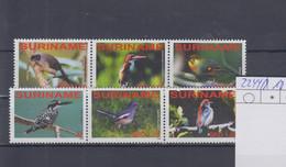 Surinam Michel Cat.No. Mnh/** 2244/2249 Birds - Surinam