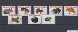 Surinam Michel Cat.No. Mnh/** 2261/2267 Frogs - Surinam
