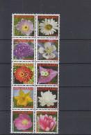 Surinam Michel Cat.No. Mnh/** 2345/2354 Flowers - Surinam