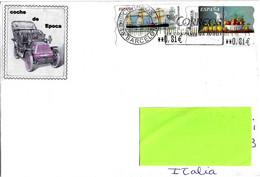 SPAGNA ESPANA - 2018 Lettera Per L'Italia Con 2 Francobolli (Sammer Gallery E Nave Infanta Isabel) - 3791 - 2011-... Lettere