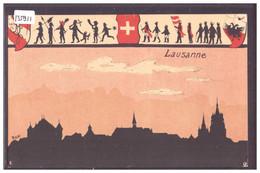 LAUSANNE - SOCIETE D'ETUDIANTS ZOFINGUE - STUDENT SOCIETY - B ( TROUS D'EPINGLE AUX ANGLES ) - VD Vaud