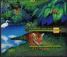 NATIONS UNIES (New York) - Les Forêts Tropicales Humides Feuillet - Blocks & Kleinbögen