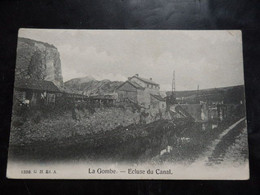 La Gombe - Ecluse Du Canal - 1398. G.H. Ed: A. - Petit Pli Coin Sup Droit - 2 Scans - Esneux