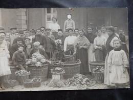 Liège - Photo Carte - Marchand/Marchande - Tabacs? Legumes? - 2 Scans - Esneux