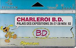 BATEN  - Télécarte Festival Charleroi BD  (Marsupilami)  (EB) - Non Classificati