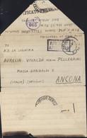 Guerre 40 Correspondance Prisonnier De Guerre Italien Cachet P.O.W. E.A.F. 356 Eldoret Censures Italie + Angleterre - Kenya & Uganda