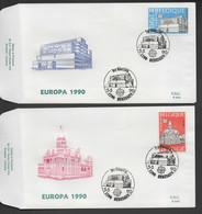 FDC :  Nr 2367/68  Stempel:  1790 Hekelgem - 1981-90