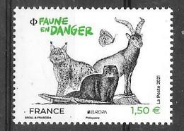 Année 2021 _ 5489** _ - Unused Stamps