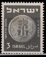 Israel, 1949, Old Jewish Coin, 3p, MLH - Ungebraucht (ohne Tabs)