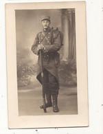 Carte Fantaisie Carte Photo Militaire Soldat Maxime Resillot Fays Billot 52 Ou 70 (Chaumont Ou Champlitte ?) - Altri
