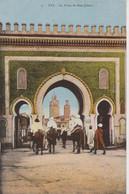 MAROC - Lot De 2 CPA : FEZ  :  Les Remparts  + La Porte De  Bou Jelous - Agadir