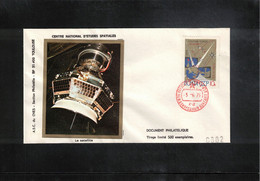 Russia USSR 1975 Space / Raumfahrt Satellite Molnya Interesting Cover - Russia & USSR