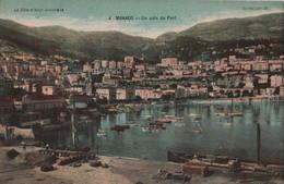 Carte Postale Ancienne /Un Coin Du  PORT / MONACO/ Vers1900-1930  CPDIV285 - Harbor