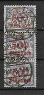 Danzig, Gut Gestempelter Werte-Streifen Der Wappen- Ausgabe Vom 15. Oktober 1923 - Coordination Sectors
