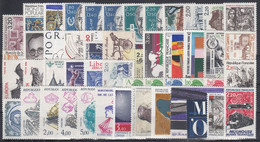 FRANCIA 1986 Nº 2393/2451 NUEVO 49 SELLOS + 1 HB - 1980-1989