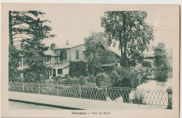 CPA  Brionne  (27) Les Villas Vues De La Risle     Ed ARGRA - Altri Comuni