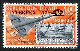 Haiti 1972 Interpex  Fokker F-10 Super Trimoteur,  Concorde (St Gibbons 1246) - Airplanes