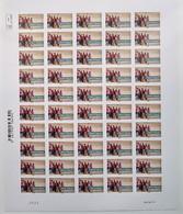 Valeurs De Femmes -Esprit D'équipe - Autoadhésif LV 20 G  N ° 807 A - Feuille Entière De 50 TP Support Blanc - 2013 - Volledige Vellen