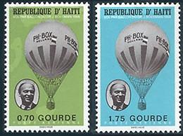 Haiti 1968 Aérostier Jan Boesman Ballon PH-BOX (St Gibbons 1104) - Airships