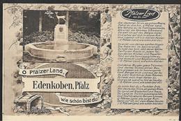 CPSM  --  EDENKOBEN PFALZ . O PFALZER LAND  . 652.G*** ECRITE EN 1919 - Edenkoben
