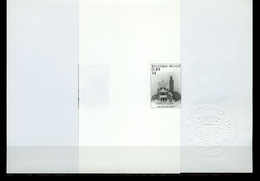 België 3002/03 MV - Gem. Uitgifte Met Marokko - Moskee En Basiliek - Oplage: 75ex - Zeldzaam - Rare - Ministerial Panes