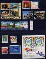 UNO WIEN 2001 Komplett Gestempelt (Ersttag) (ohne Markenheft) /AUG2001 - Gebraucht