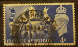 INGLATERRA 1951 Centenario Del Festival Nacional. USADO - USED. - Used Stamps