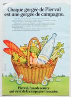 Publicité Papier Eau Pierval Septembre 1972 P1009029 - Werbung