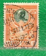 2 Siam 1910  Yvert 96 Usado - Siam