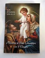 Novena A San Giuseppe Con Il Vangelo  Libretto NUOVO ITALY - Religione