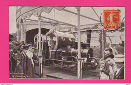 CPA (Réf: Z 3734) (THÈME SPECTACLE) Fête Forraine Le Chemin De Fer (Locomotive) - Altri
